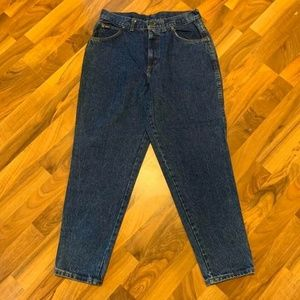 Chic Tapered Jeans High Rise Women Size 16 Petite